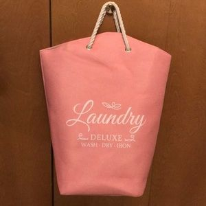 🌸Pink Laundry Hamper🌸